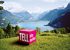 Looking over the Uri arm of Lake Lucerne in William Tell's homeland (kulturschweiz.ch)