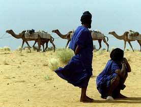 The Sahara Desert, in northern Mali, is a destination for adventure tourists