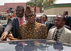 Former dictator Mobutu Sese Seko died in 1997 but legal wrangles over his money in Swiss bank accounts continue