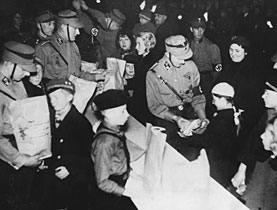 """an analysis of adolf hitler rise to power and voting of nazis Nazis rise to power-1929 kurt ludecke first heard adolf hitler speak in 1922- """"i of society so that they could win their trust and vote them into power."""