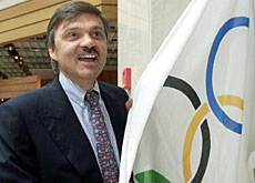 René Fasel can't wait to inspect the teeth of Olympic athletes