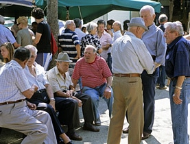 The Swiss are looking to their neighbours for tips on social security reforms