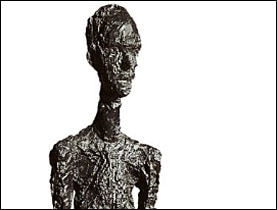 Not only Giacometti's most expensive but also his tallest sculpture