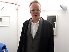 Hans Ulrich Obrist's first exhibitions were in his kitchen