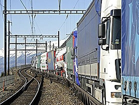 Swiss transport policy has suffered a setback