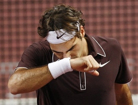 Not the result Federer hoped for after two hours and 11 minutes