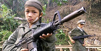 Child soliders/small arms