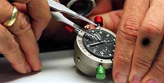 Watch manufacturing at the International Watch Company in Schaffhausen