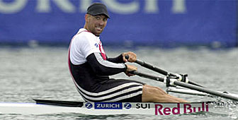 Xeno Müller in top form at the regatta in Vienna