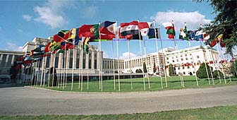 Although the UN's European headquarters are in Geneva, Switzerland is not a member.