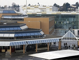 Solar energy, as seen here at Federal Institute of Technology in Lausanne, is one of Switzerland's strengths