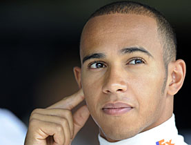 Winning formula: many of Lewis Hamilton's neighbours are also his rivals