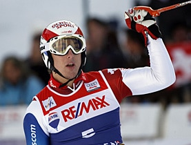 Janka leads the way for the other Wengen races