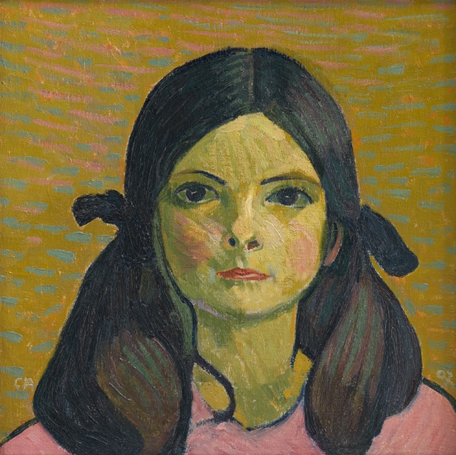 Cuno Amiet, Portrait of a Girl, 1907, private collection. Photo: © SIK-ISEA, Zurich