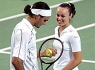 Switzerland's Hopman Cup winners will be in separate action in Sydney