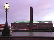 Bankside Power Station was transformed into Tate Modern by Jaques Herzog and Pierre de Meuron