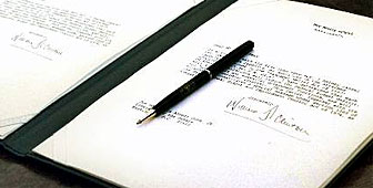 Digital signatures may soon have the same status as those on paper