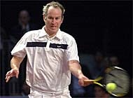 McEnroe has spent the last eight years playing on the senior tour