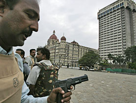 The Taj Mahal Hotel was one of the hotels held by the militants
