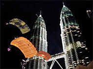 The Petronas Towers in Kuala Lumpur: Zurich Financial Services hopes to cement a commanding position in Malaysia's insurance market