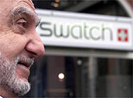 Nicolas Hayek, President of the Swatch group: sales have reached a record high
