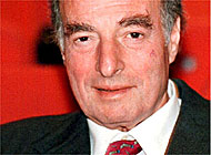 The billionaire fugitive, Marc Rich, who was pardoned by Bill Clinton in January