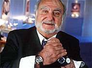 Swatch chairman, Nicolas Hayek, has plenty to smile about after the announcement of record sales figures in 2000