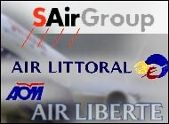 SAirGroup plans to halt investments in its French subsidiaries