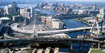 Boston's new bridge will break new ground in engineering and aesthetic terms (picture: Boston Central Artery project)
