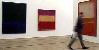 The Rothko exhibition includes works not publicly seen for decades