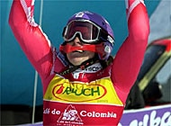 Kostelic has more than a victory to celebrate