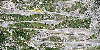 From the Middle Ages until 1980, the road over the Gotthard Pass was the main link between Ticino and the rest of Switzerland (picture: Switzerland Tourism)