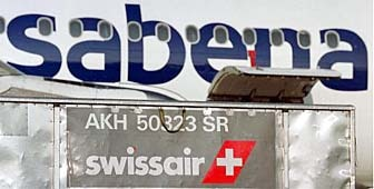 SAirGroup, which owns Swissair, agreed to a cash injection to save Sabena from bankruptcy