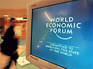 Computer hackers allegedly stole confidential information stored on the World Economic Forum computer