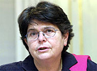 The Interior Minister, Ruth Dreifuss, has been accused of abusing her authority
