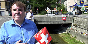 Cornelius Koch has helped thousands of refugees who crossed the Swiss border with Italy