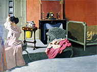 "Félix Vallotton: ""Femme se coiffant"", 1900 (Musée national d'art moderne)"