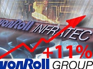 Von  Roll has reported sales growth and increase in operating income for 2000