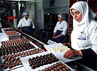 Lindt & Sprüngli's profits were up nearly 10 per cent in 2000