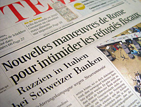 Some Swiss media describe the raids as dramatic but not wrong