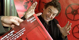 Jean Perret, director del Festival Internacional del Cine Documental de Nyon. (Archivo Keystone)