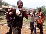 Liberia is accused of supporting rebels in neighbouring Sierra Leone