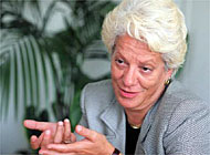 Carla del Ponte: a mixed track record in fighting crime in Switzerland