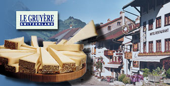 Gruyère has been produced for the last 1,000 years in western Switzerland