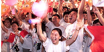 china should not be allowed to host the 2008 olympic games How is beijing planning to handle political protests during for the 2008 olympic games not be allowed to bring 中国加油 (go china.