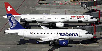 Swissair has reached an agreement with Belgium to avoid having to increase its stake in Sabena