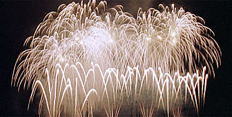 A giant firework display sets the Fêtes de Genève in motion on August 3