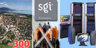 300 people will lose their jobs at Silicon Graphics near Neuchâtel