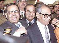The three Hinduja brothers are accused of involvement in a 15-year-old corruption scandal