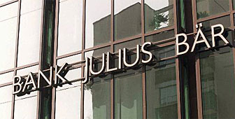 A large profit fall has been reported at the Julius Baer group